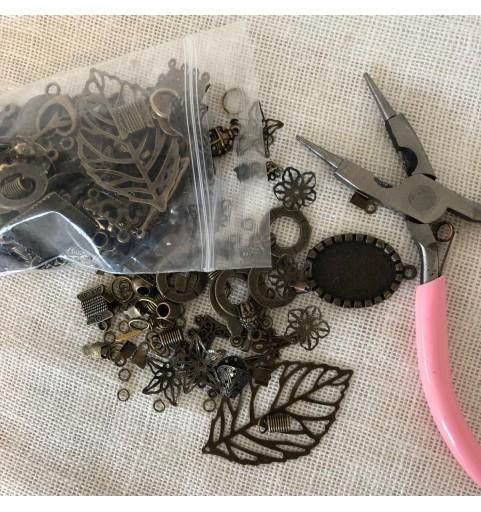 Accessoires pour la création - Bronze