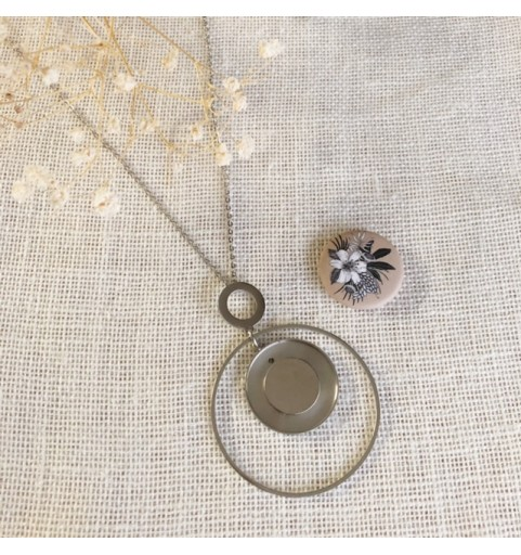 collier cercle 25mm